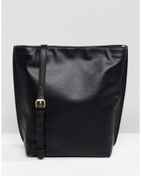 Warehouse - Bonded Hobo Shopper Bag - Lyst