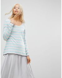 Subtle Luxury - Cruise Striped Crew Neck Jumper - Lyst