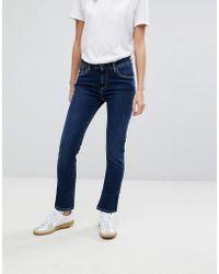 Femmes Venus Wash Pepe Lyst Viser Coloris Bleu En Jeans wtSPHfq