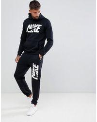 1fd2721960f8 Nike Polyknit Tracksuit Set In Blue 861780-023 in Gray for Men - Lyst