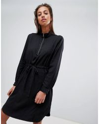 French Connection - Toggle Shirt Dress - Lyst