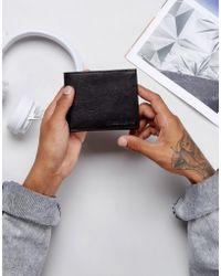 Forbes & Lewis - Leather Billfold Wallet In Black - Lyst