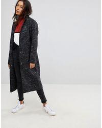 ASOS - Asos Oversized Coat In Textured Fabric - Lyst