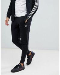 adidas Originals - Premium Skinny Joggers In Black Dn6009 - Lyst