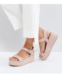 ASOS - Toucan Wedge Sandals - Lyst