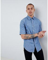 G-Star RAW - Bristum Short Sleeve Denim Shirt - Lyst