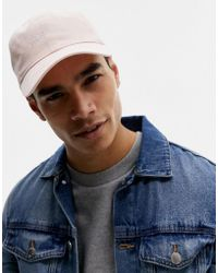 Hollister - Twill Cap In Pink - Lyst