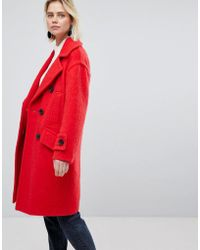 Warehouse | Oversized Tailored Coat | Lyst
