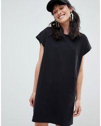Stradivarius - Jersey T Shirt Dress - Lyst