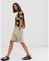 Weekday Cargo-Shorts in Beige