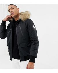Good For Nothing - Parka Jacket In Black Exclusive To Asos - Lyst