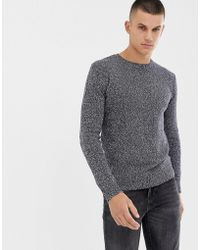 French Connection - Melange Fleck Sweater - Lyst