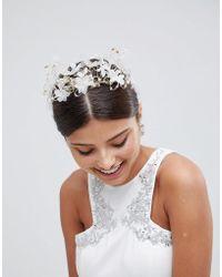 LoveRocks London - Ethereal Floral Bridal Hair Crown - Lyst