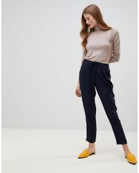 Y.A.S - Drawstring Smart Trousers - Lyst