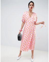 Gestuz - Elsie Wrap Dress - Lyst