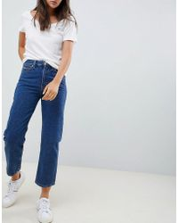3ec8154b Tommy Hilfiger - Classics High Rise Mom Jeans - Lyst