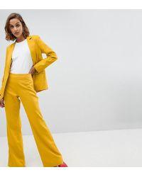 UNIQUE21 - Unique 21 Linen Flared Trousers Co-ord - Lyst