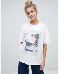 WÅVEN - Tumi Print T-shirt - Lyst