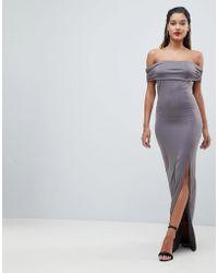 72293615653 Coast Reeva Maxi Dress In Jersey in Black - Lyst