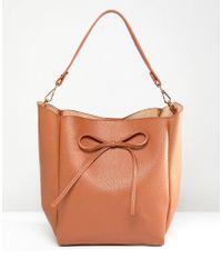 Park Lane - Bow Detail Shoulder Bag - Lyst