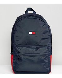 Tommy Hilfiger - Retro Logo Backpack Exclusive To Asos In Navy - Lyst