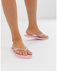 Pieces - Flip Flops - Lyst
