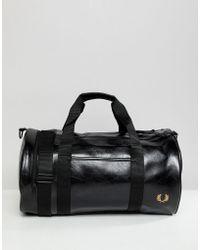 bb2be2fc9e Lyst - Asos Asos Barrel Bag in Baroque Print in Metallic for Men