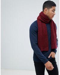 Lyst - Écharpe à logo intarsia Givenchy pour homme en coloris Rouge ec3217c1520