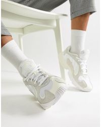 505a15eb6b43 adidas Originals Superstar Boost Primeknit Sneakers In White Bb0190 ...