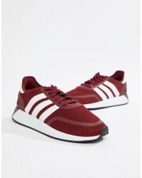 92a2f2229917 Puma Running Carson 2 Knit Sneakers In Burgundy 19003902 in Red for ...