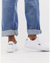 57d52a7ef9 Chaussures Lacoste femme à partir de 26 € - Lyst