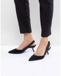 Mango - Two Piece Sling Back - Lyst