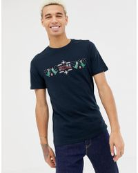 Only & Sons - Christmas T-shirt With Dinosaur Graphic - Lyst