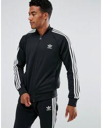 adidas Originals - Track Jacket In Black Bk5921 - Lyst
