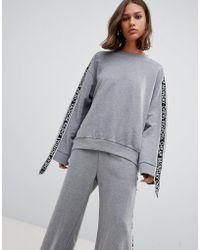 Cheap Monday - Further Tape Sleeve Sweatshirt - Lyst