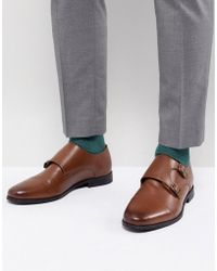 KG by Kurt Geiger - Kg By Kurt Geiger Double Monk Shoes In Tan - Lyst