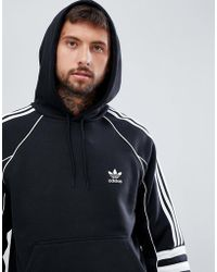 adidas Originals - Authentic Hoody In Black Dh3851 - Lyst