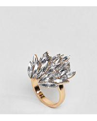 ASOS - Statement Jewel Ring - Lyst