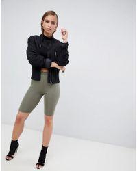 PrettyLittleThing - Basic Legging Shorts - Lyst