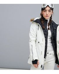 Volcom - Fawn Insulated Ski Jacket In White - Lyst