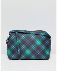 Bershka - Plaid Crossbody Bag - Lyst