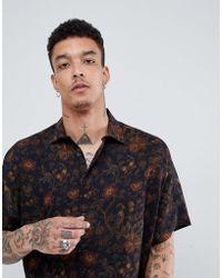 ASOS - Design Oversized Shirt Batwing Sleeeves - Lyst