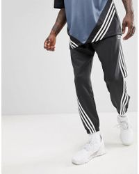 adidas Originals - Nova Wrap Around Joggers In Black Ce4806 - Lyst