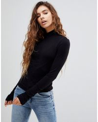 Cheap Monday - Funds Turtleneck Long Sleeved Top - Lyst