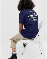 Herschel Supply Co. - Camiseta clsica con logo de Herschel - Lyst