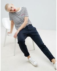 SELECTED - Femme Slim Fit Chinos - Lyst