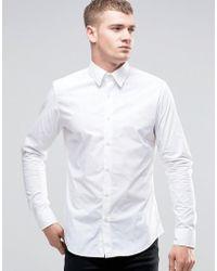 G-Star RAW - Core Slim Shirt - Lyst