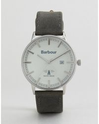 Barbour - Whitburn Watch With Black Strap - Lyst