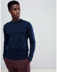 Jack & Jones - Essentials Knitted Sweater - Lyst