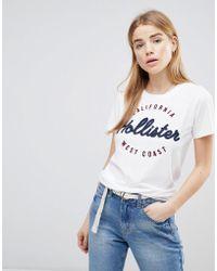 Hollister - Vintage Logo T-shirt - Lyst
